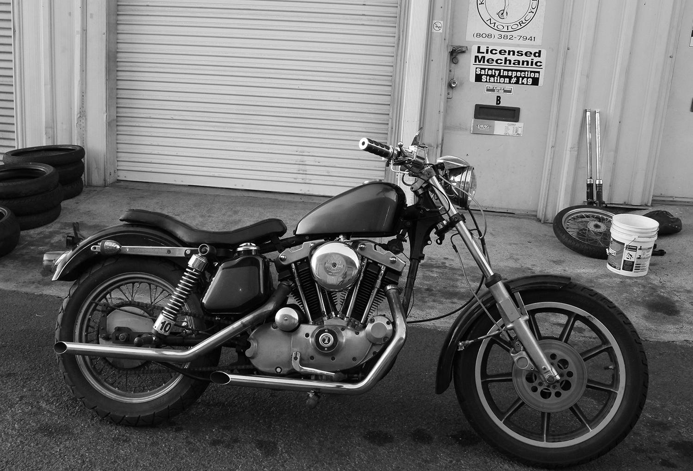 My Bike on 1971 Ironhead Sportster